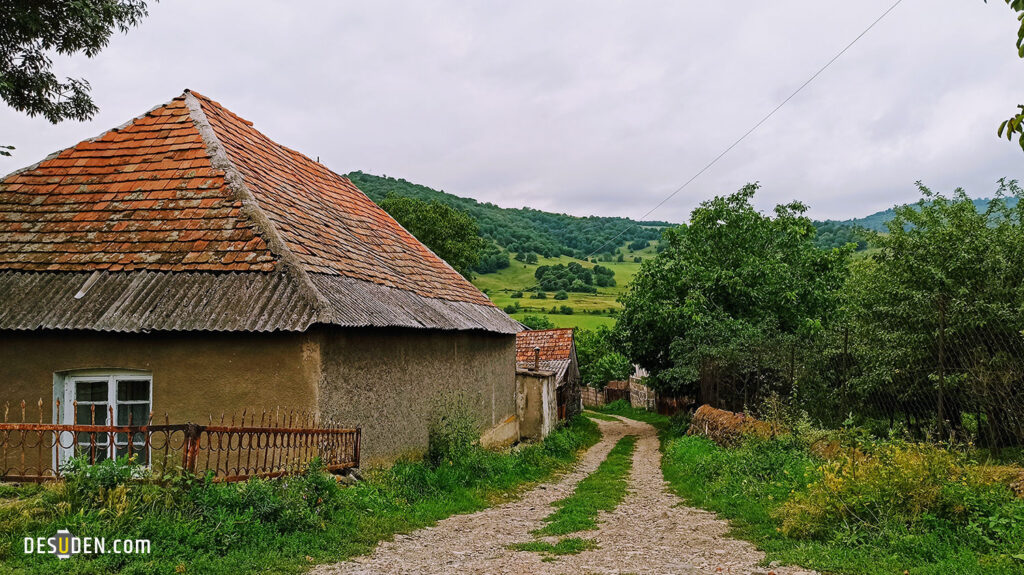 Fairy tale houses in the village of Kurtan