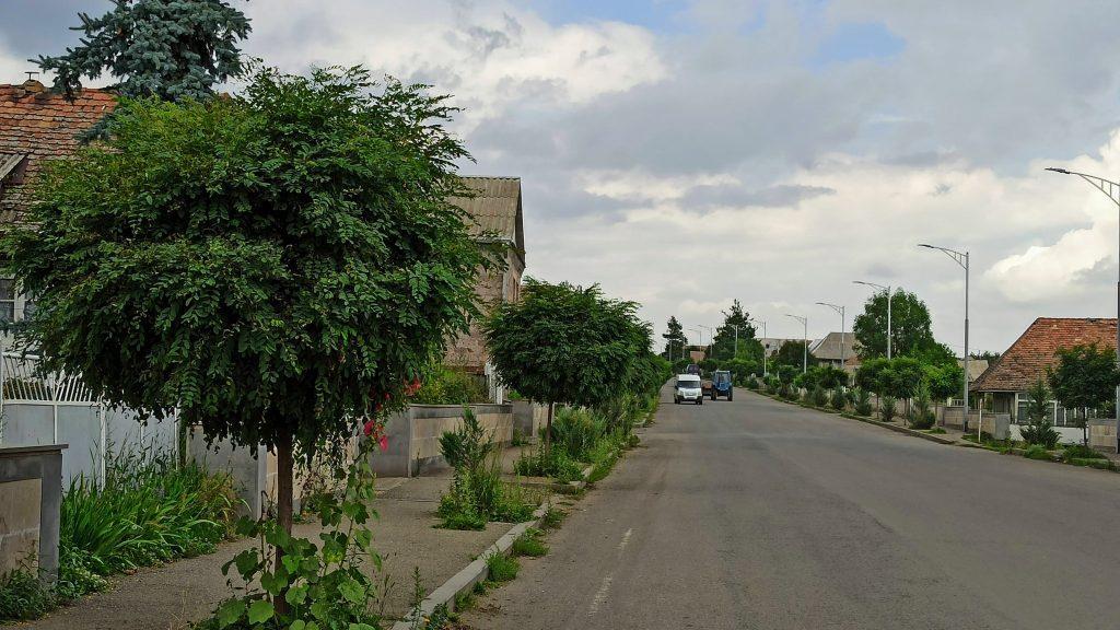 Tashir city central street