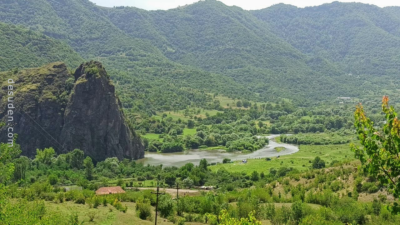 Arevatsag Canyon, Dzoraget river, Lori region of Armenia
