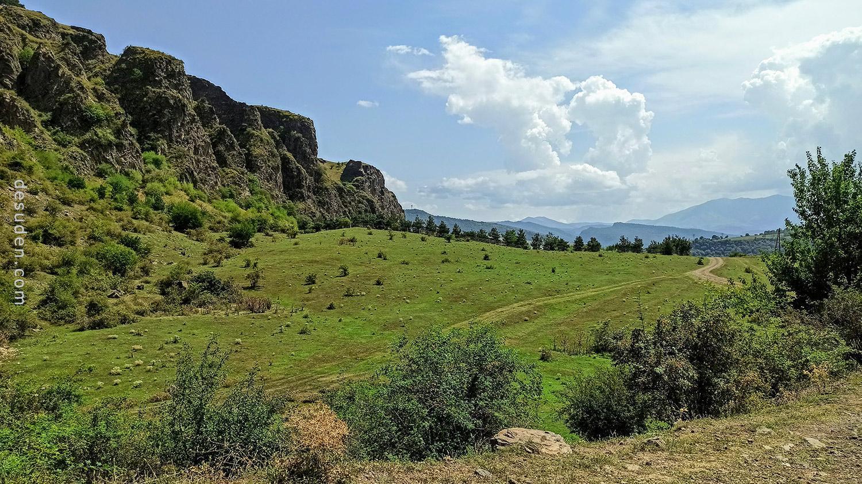 Mountains near Arevatsag village