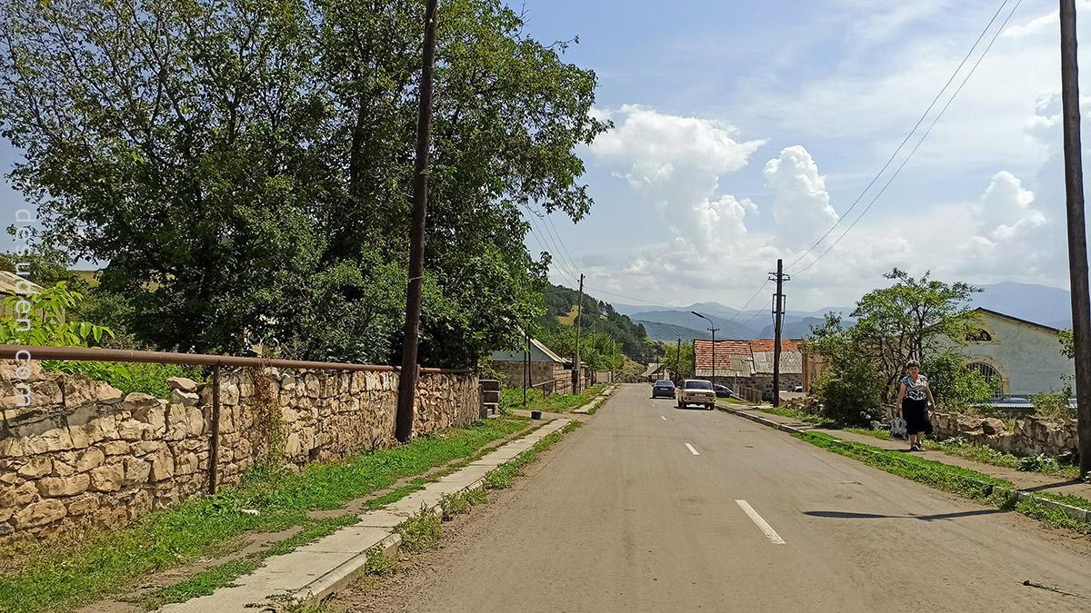 The village of Arevatsag