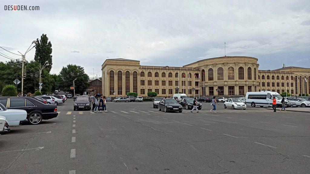 Gyumri city center