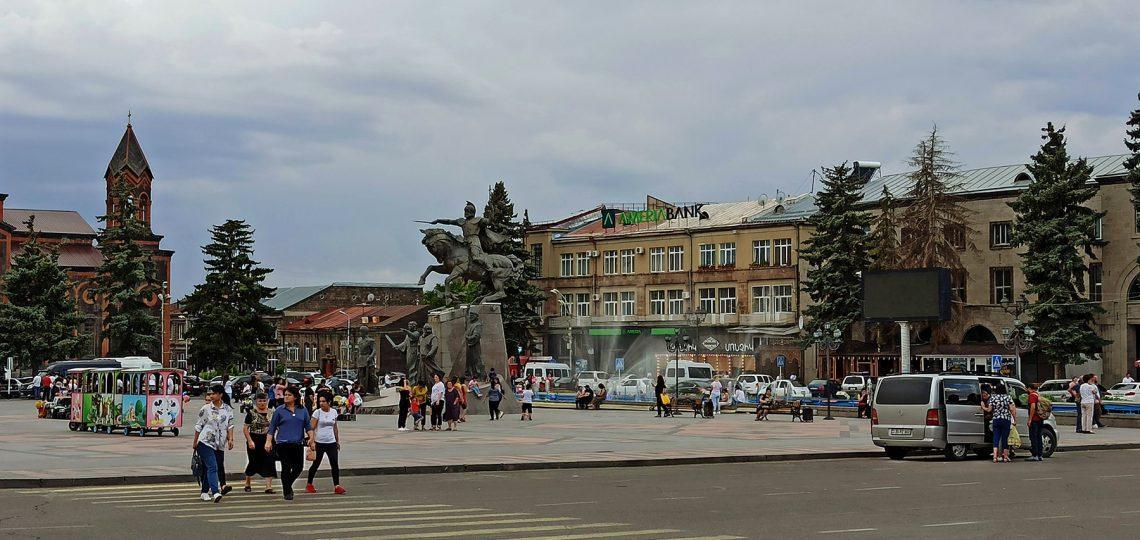 Gyumri central square