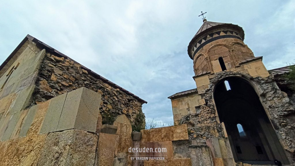 Hnevank monastery in Kurtan canyon, Lori region of Armenia