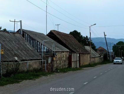 The central street of Lejan village