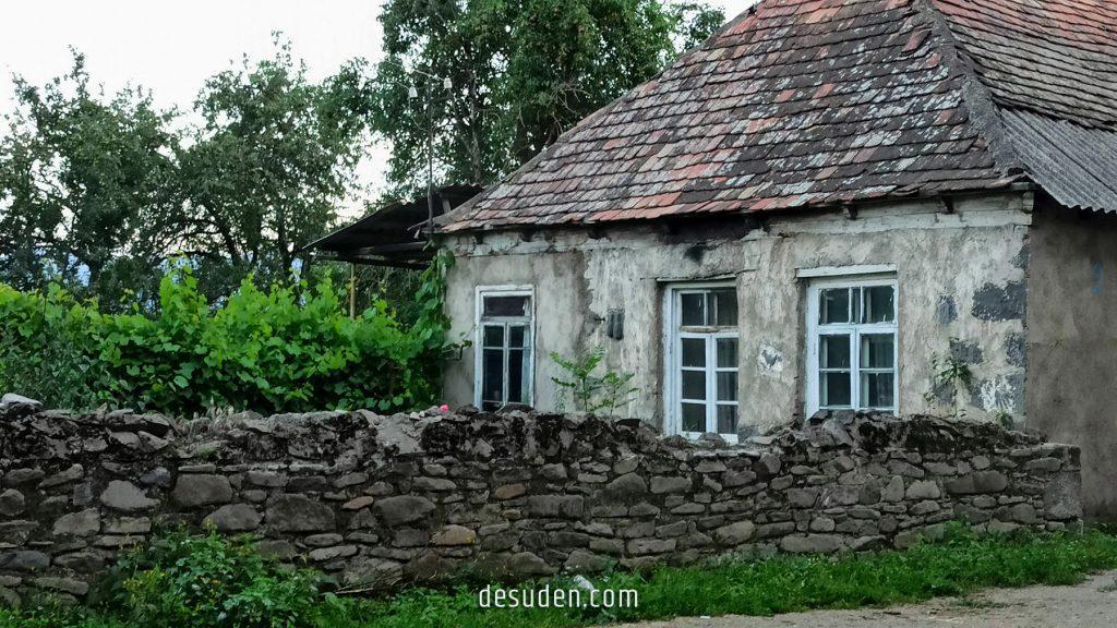Old house in Lejan, Lori region