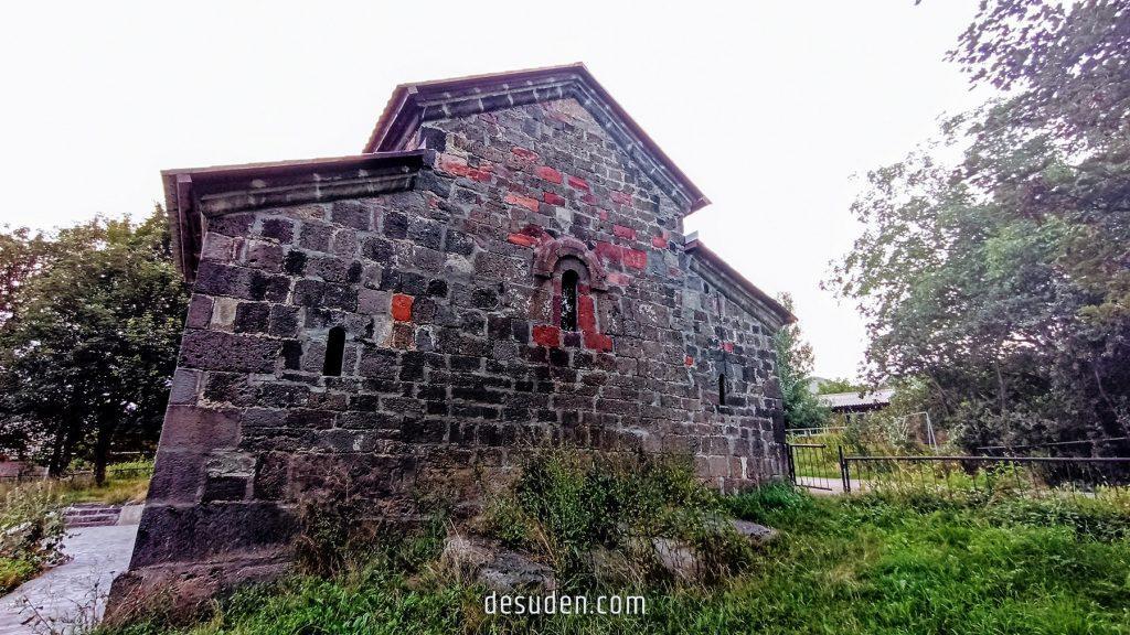 Lejan St. Red Sunday church