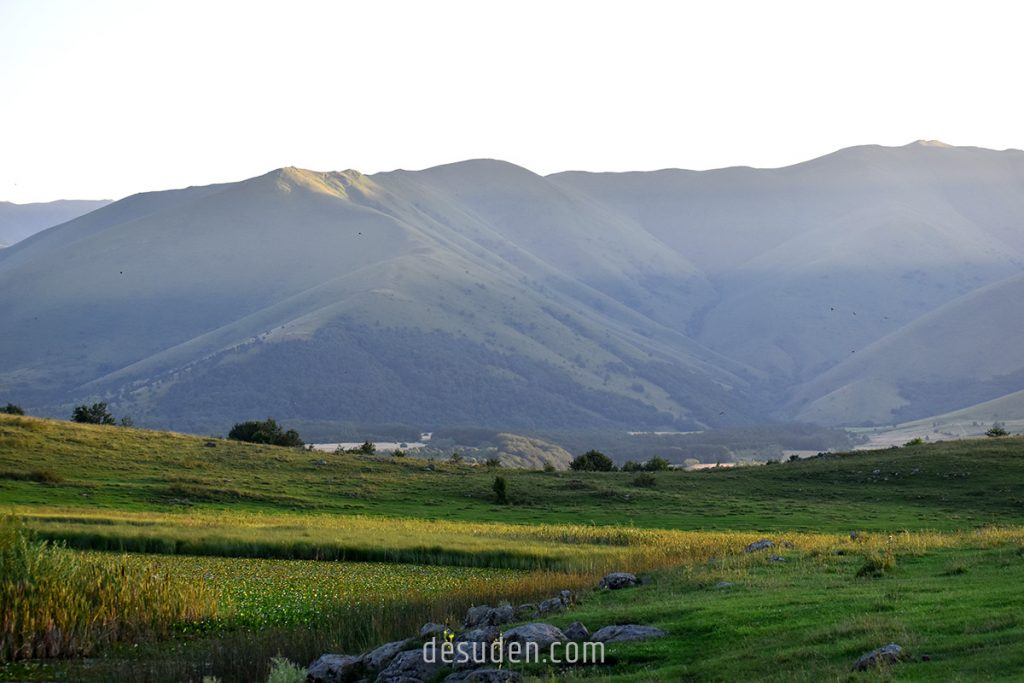 Surrounding mountains of Urasar Lake